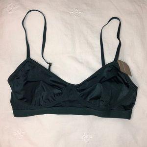 NWT green madewell bra